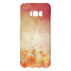 Flower Power, Cherry Blossom Samsung Galaxy S8 Plus Hardshell Case  by FantasyWorld7