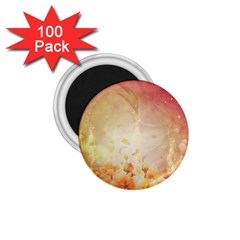 Flower Power, Cherry Blossom 1 75  Magnets (100 Pack)  by FantasyWorld7