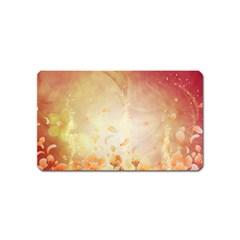 Flower Power, Cherry Blossom Magnet (name Card) by FantasyWorld7