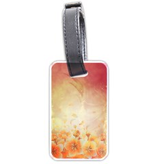 Flower Power, Cherry Blossom Luggage Tags (one Side)
