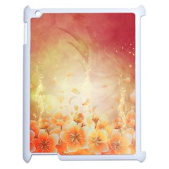Flower Power, Cherry Blossom Apple Ipad 2 Case (white) by FantasyWorld7