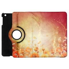 Flower Power, Cherry Blossom Apple Ipad Mini Flip 360 Case by FantasyWorld7
