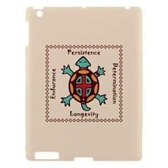Turtle Animal Spirit Apple Ipad 3/4 Hardshell Case by linceazul