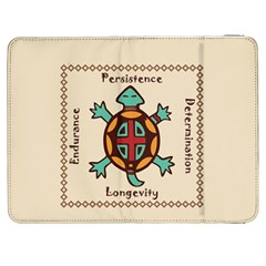 Turtle Animal Spirit Samsung Galaxy Tab 7  P1000 Flip Case by linceazul
