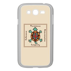 Turtle Animal Spirit Samsung Galaxy Grand Duos I9082 Case (white) by linceazul