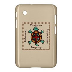 Turtle Animal Spirit Samsung Galaxy Tab 2 (7 ) P3100 Hardshell Case  by linceazul