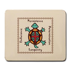 Turtle Animal Spirit Large Mousepads by linceazul