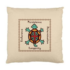 Turtle Animal Spirit Standard Cushion Case (one Side) by linceazul