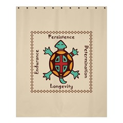 Turtle Animal Spirit Shower Curtain 60  X 72  (medium)  by linceazul