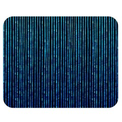 Stylish Abstract Blue Strips Double Sided Flano Blanket (medium)  by gatterwe