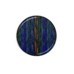 Stylish Colorful Strips Hat Clip Ball Marker (10 Pack) by gatterwe