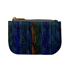Stylish Colorful Strips Mini Coin Purses by gatterwe