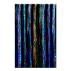 Stylish Colorful Strips Shower Curtain 48  X 72  (small)  by gatterwe