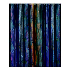 Stylish Colorful Strips Shower Curtain 60  X 72  (medium)  by gatterwe