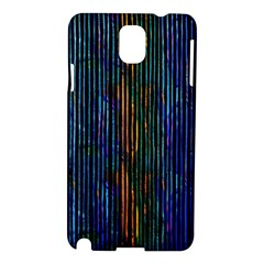 Stylish Colorful Strips Samsung Galaxy Note 3 N9005 Hardshell Case by gatterwe