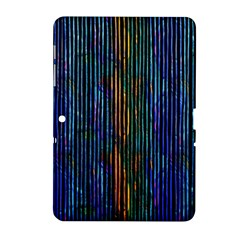 Stylish Colorful Strips Samsung Galaxy Tab 2 (10 1 ) P5100 Hardshell Case  by gatterwe