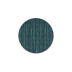 Stylish Frost Blue Strips Golf Ball Marker by gatterwe