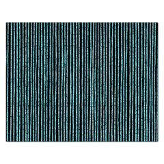 Stylish Frost Blue Strips Rectangular Jigsaw Puzzl by gatterwe