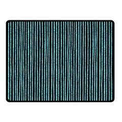 Stylish Frost Blue Strips Fleece Blanket (small) by gatterwe