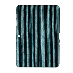 Stylish Frost Blue Strips Samsung Galaxy Tab 2 (10 1 ) P5100 Hardshell Case  by gatterwe