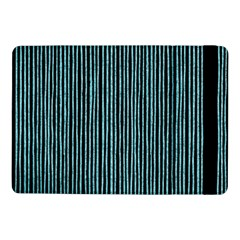 Stylish Frost Blue Strips Samsung Galaxy Tab Pro 10 1  Flip Case by gatterwe