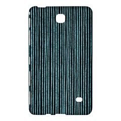 Stylish Frost Blue Strips Samsung Galaxy Tab 4 (8 ) Hardshell Case  by gatterwe