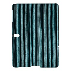 Stylish Frost Blue Strips Samsung Galaxy Tab S (10 5 ) Hardshell Case  by gatterwe