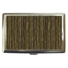 Stylish Golden Strips Cigarette Money Cases by gatterwe