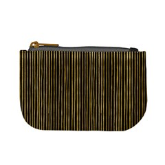 Stylish Golden Strips Mini Coin Purses by gatterwe
