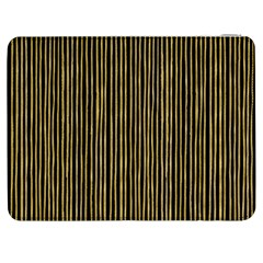 Stylish Golden Strips Samsung Galaxy Tab 7  P1000 Flip Case by gatterwe