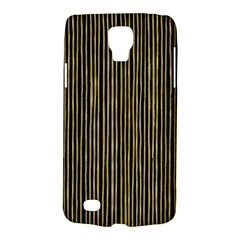 Stylish Golden Strips Galaxy S4 Active by gatterwe