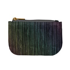 Stylish Rainbow Strips Mini Coin Purses by gatterwe