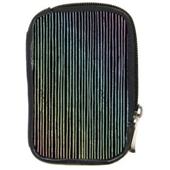 Stylish Rainbow Strips Compact Camera Cases by gatterwe