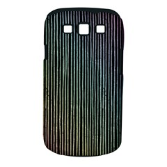 Stylish Rainbow Strips Samsung Galaxy S Iii Classic Hardshell Case (pc+silicone) by gatterwe