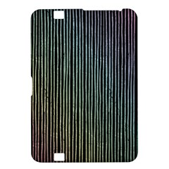 Stylish Rainbow Strips Kindle Fire Hd 8 9  by gatterwe