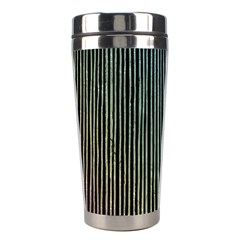 Stylish Rainbow Strips Stainless Steel Travel Tumblers by gatterwe