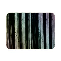 Stylish Rainbow Strips Double Sided Flano Blanket (mini)  by gatterwe