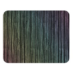 Stylish Rainbow Strips Double Sided Flano Blanket (large)  by gatterwe