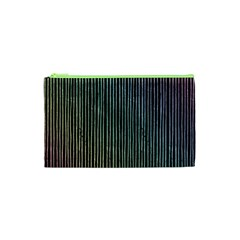 Stylish Rainbow Strips Cosmetic Bag (xs) by gatterwe