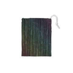Stylish Rainbow Strips Drawstring Pouches (xs)  by gatterwe
