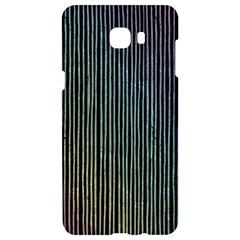 Stylish Rainbow Strips Samsung C9 Pro Hardshell Case  by gatterwe