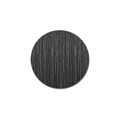 Stylish Silver Strips Golf Ball Marker by gatterwe
