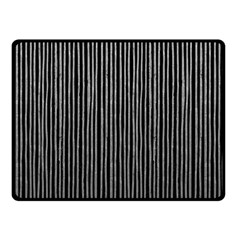 Stylish Silver Strips Fleece Blanket (small) by gatterwe