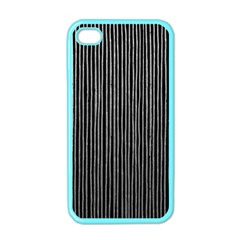Stylish Silver Strips Apple Iphone 4 Case (color) by gatterwe