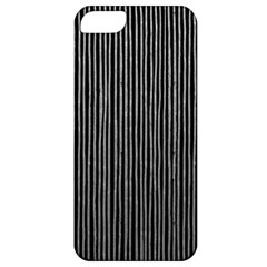 Stylish Silver Strips Apple Iphone 5 Classic Hardshell Case by gatterwe