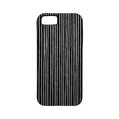 Stylish Silver Strips Apple Iphone 5 Classic Hardshell Case (pc+silicone) by gatterwe