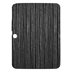 Stylish Silver Strips Samsung Galaxy Tab 3 (10 1 ) P5200 Hardshell Case  by gatterwe