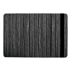 Stylish Silver Strips Samsung Galaxy Tab Pro 10 1  Flip Case by gatterwe
