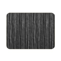 Stylish Silver Strips Double Sided Flano Blanket (mini)  by gatterwe