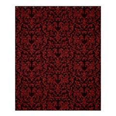 Red Glitter Look Floral Shower Curtain 60  X 72  (medium)  by gatterwe